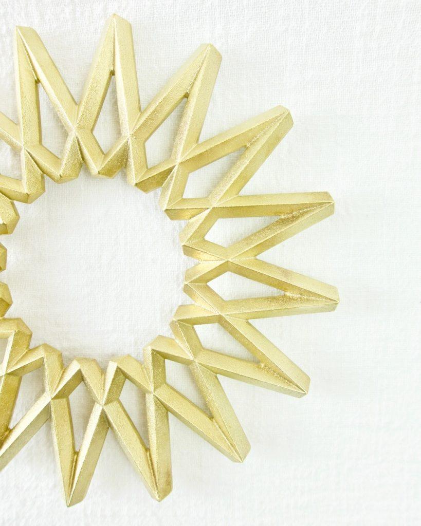 heyday Futagami Brass Galaxy Trivet 4